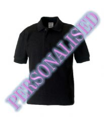 NRG KIDS UNISEX POLO WITH EMBROIDERED LOGO & PERSONALISED